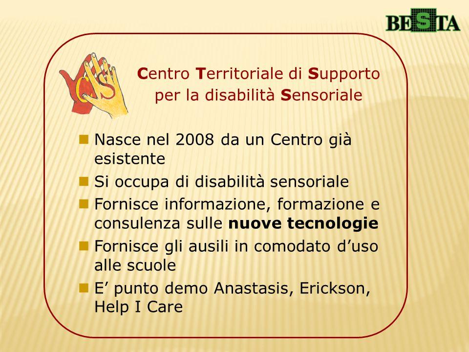 Centro Territoriale di Supporto per la disabilità Sensoriale