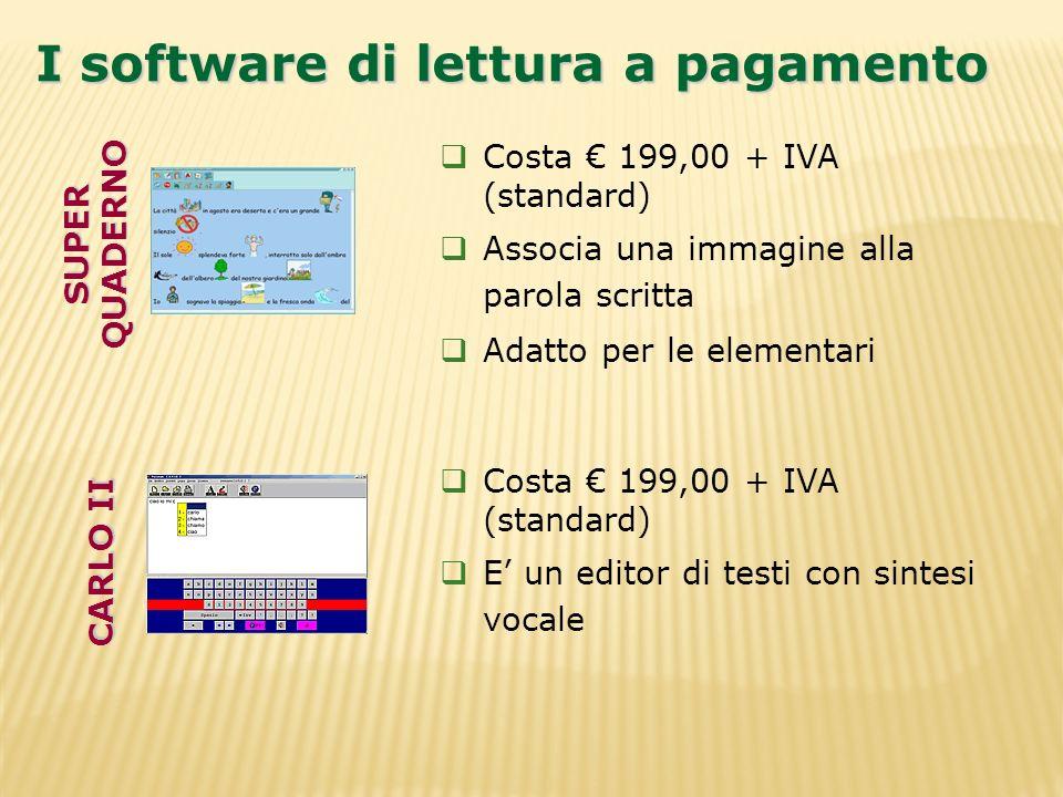 I software di lettura a pagamento