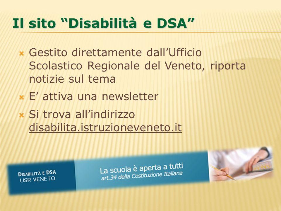 Il sito Disabilità e DSA