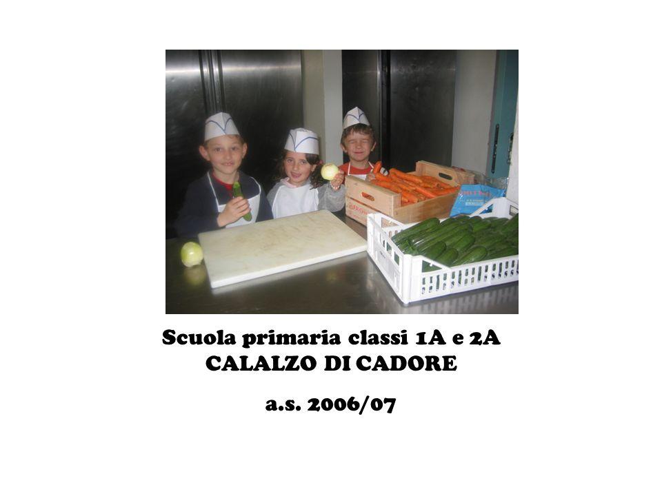 Scuola primaria classi 1A e 2A CALALZO DI CADORE