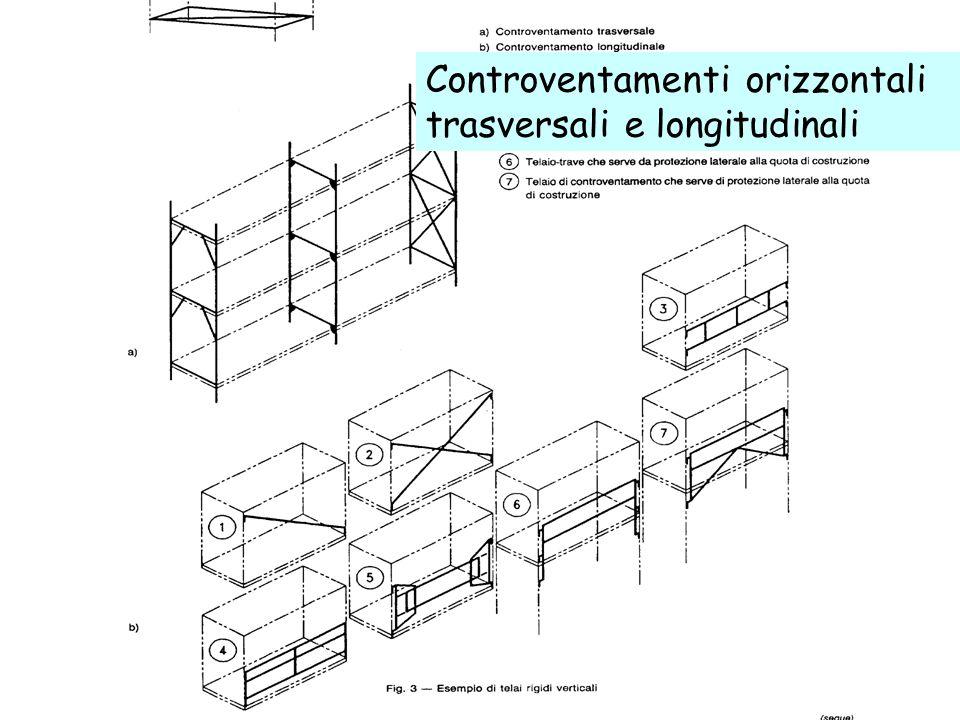 Controventamenti orizzontali trasversali e longitudinali