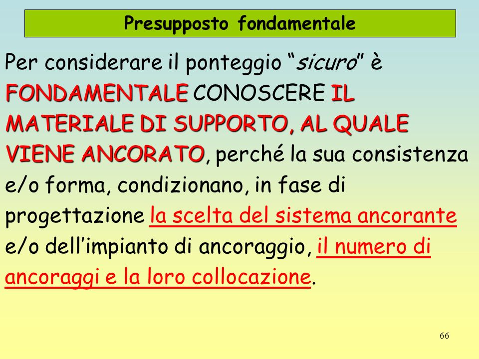 Presupposto fondamentale