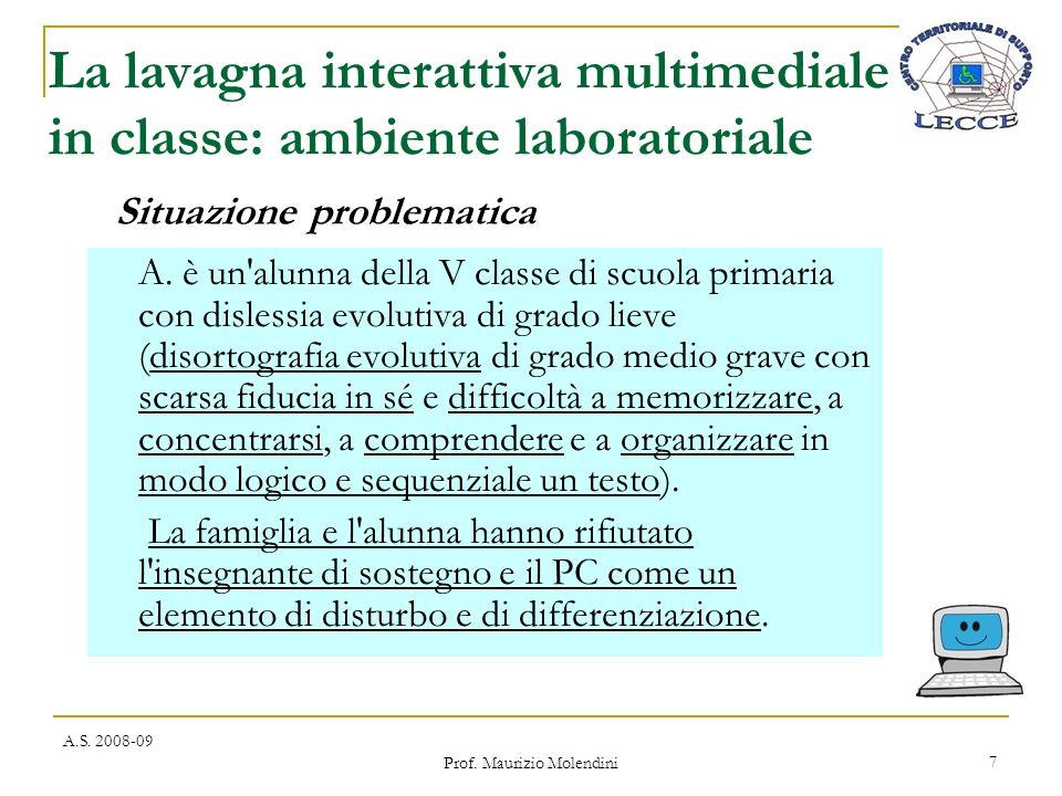 La lavagna interattiva multimediale in classe: ambiente laboratoriale