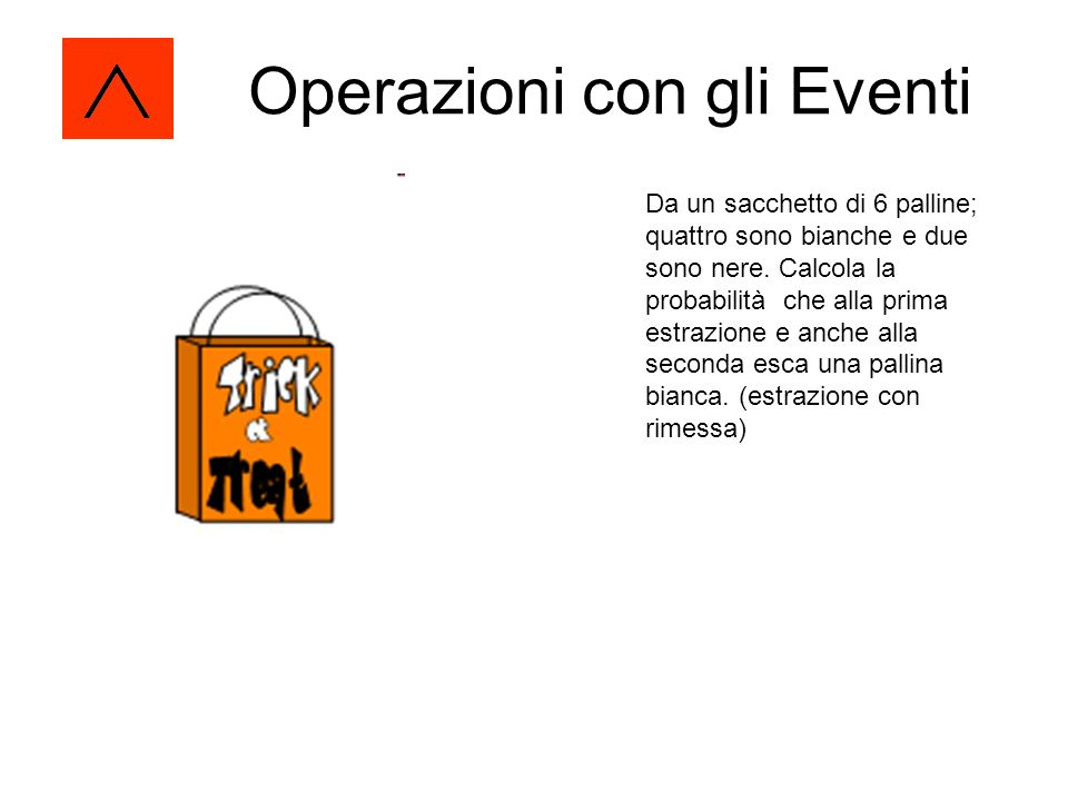 Operazioni con gli Eventi
