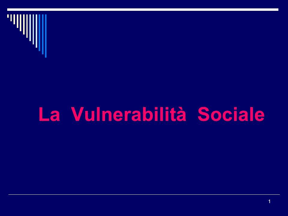 La Vulnerabilità Sociale