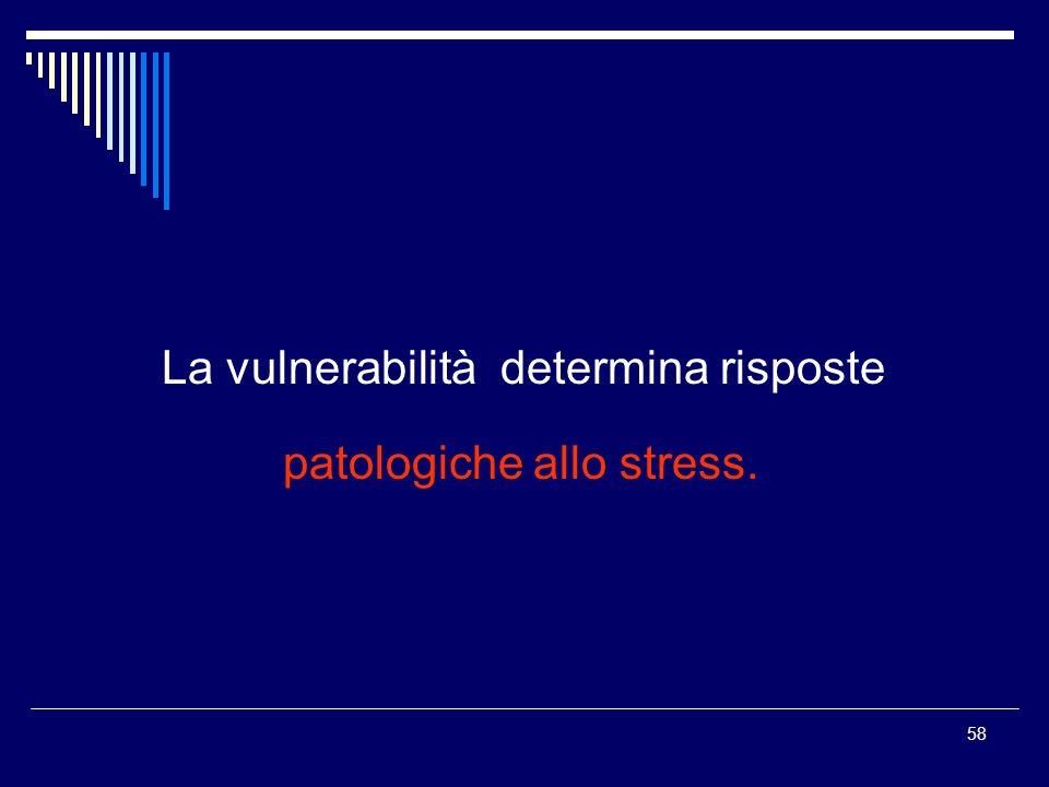 patologiche allo stress.