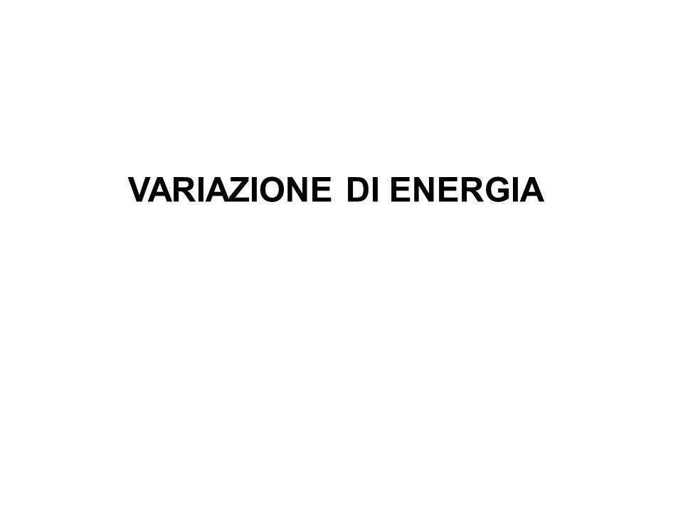 VARIAZIONE DI ENERGIA