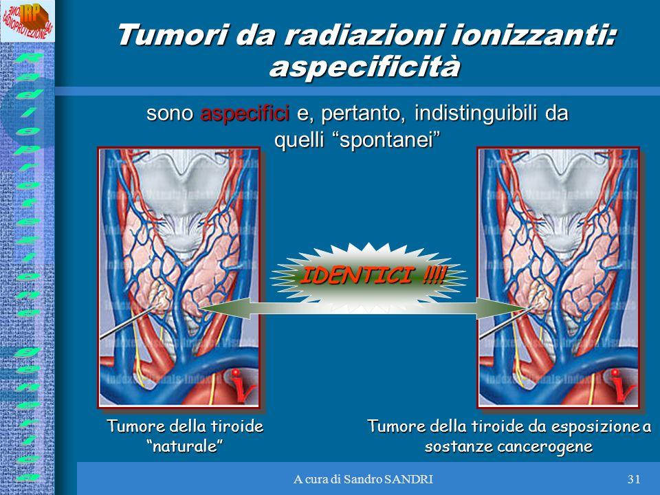 Tumori da radiazioni ionizzanti: aspecificità