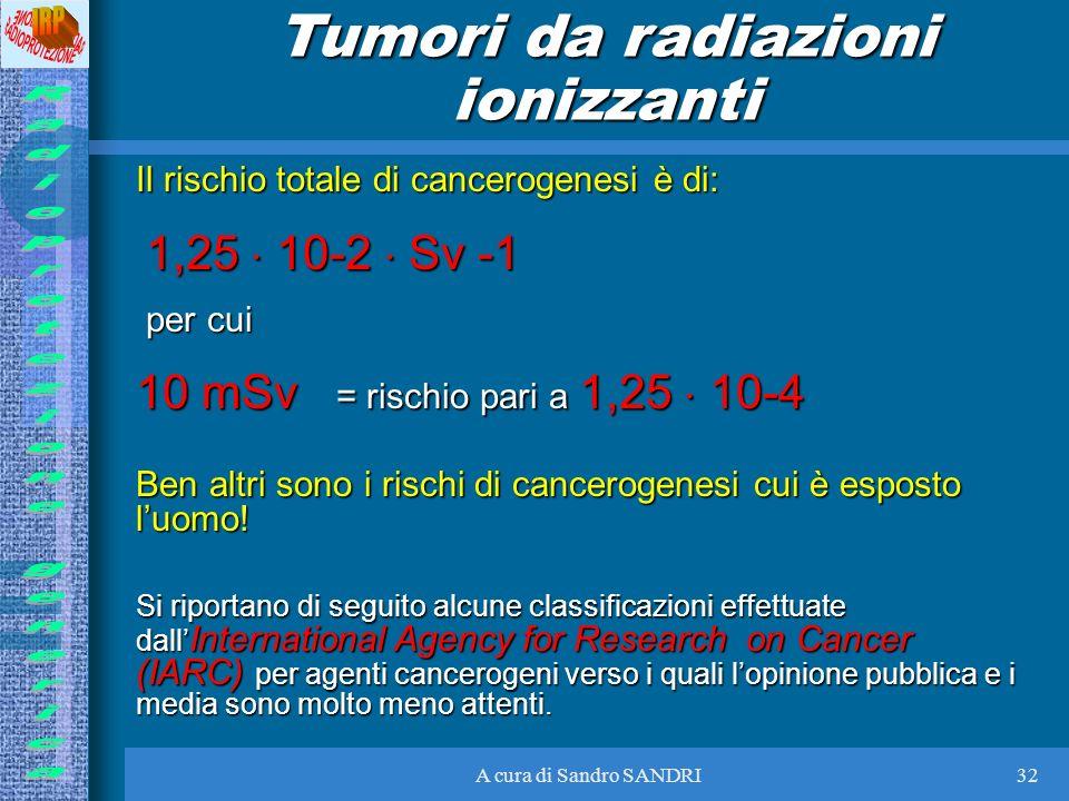 Tumori da radiazioni ionizzanti