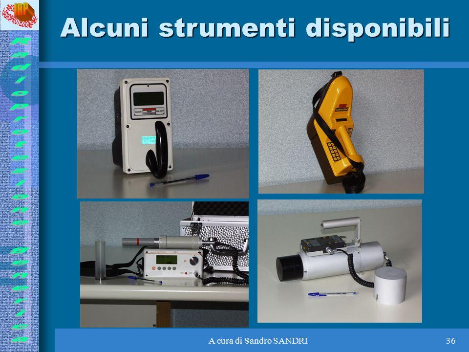 Alcuni strumenti disponibili