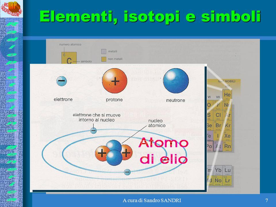 Elementi, isotopi e simboli