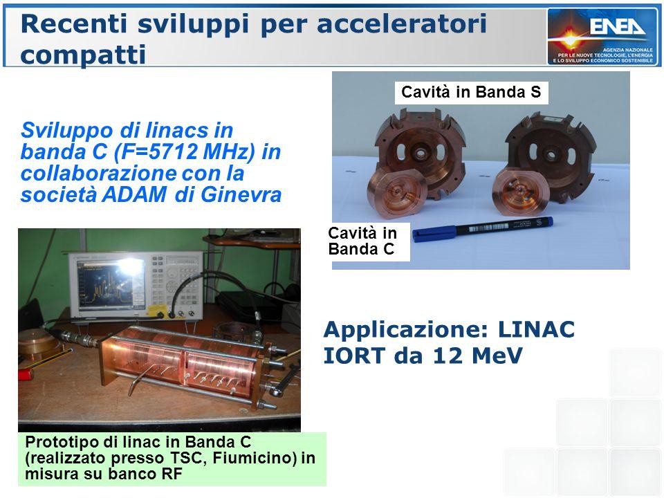 Recenti sviluppi per acceleratori compatti