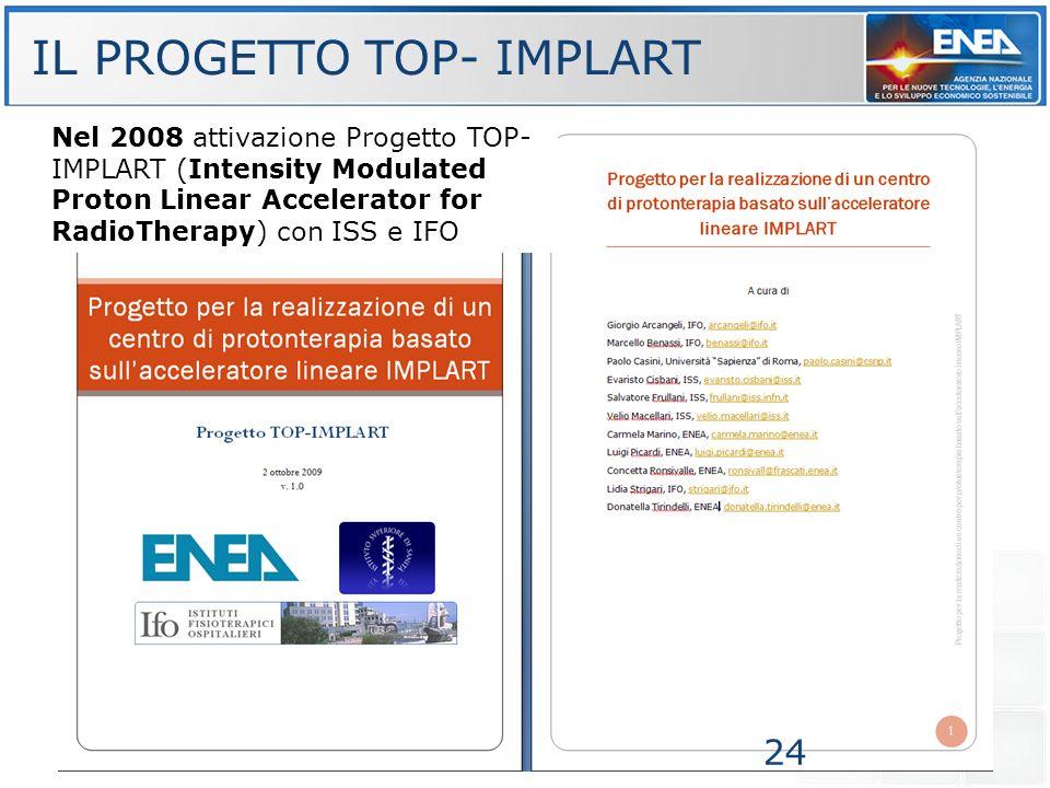 IL PROGETTO TOP- IMPLART