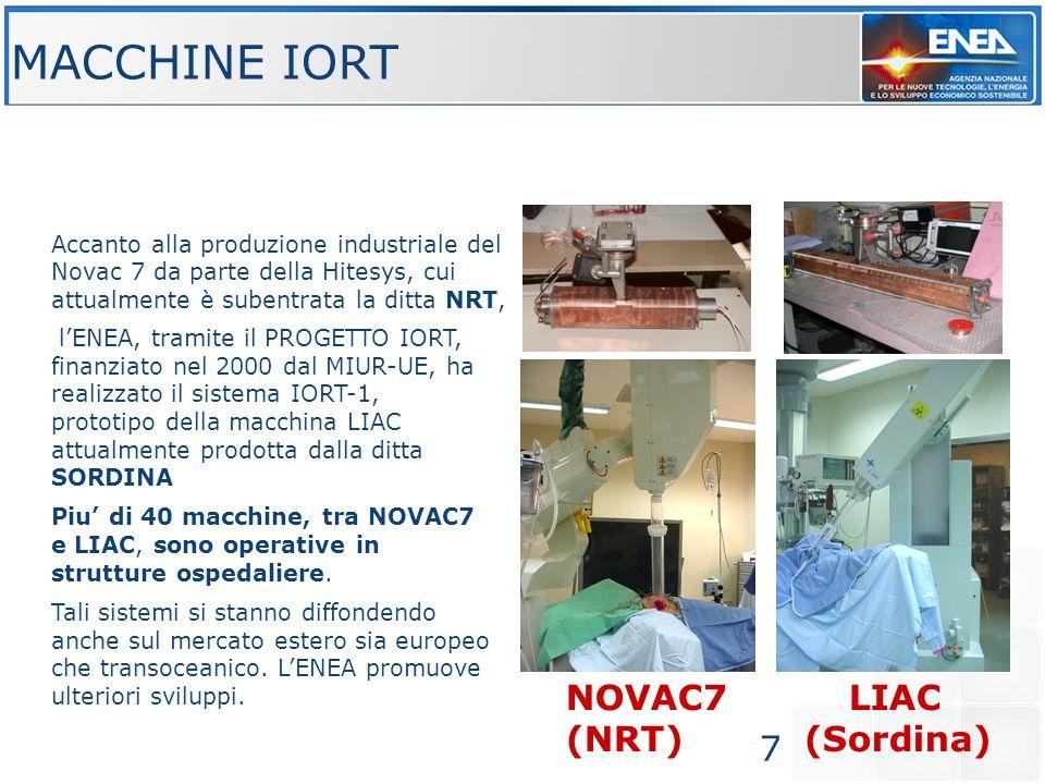 MACCHINE IORT NOVAC7 LIAC (NRT) (Sordina)
