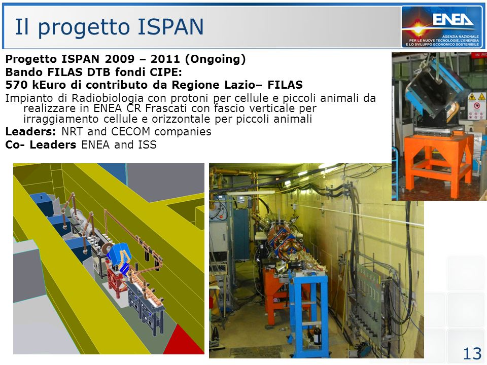 Il progetto ISPAN Progetto ISPAN 2009 – 2011 (Ongoing)