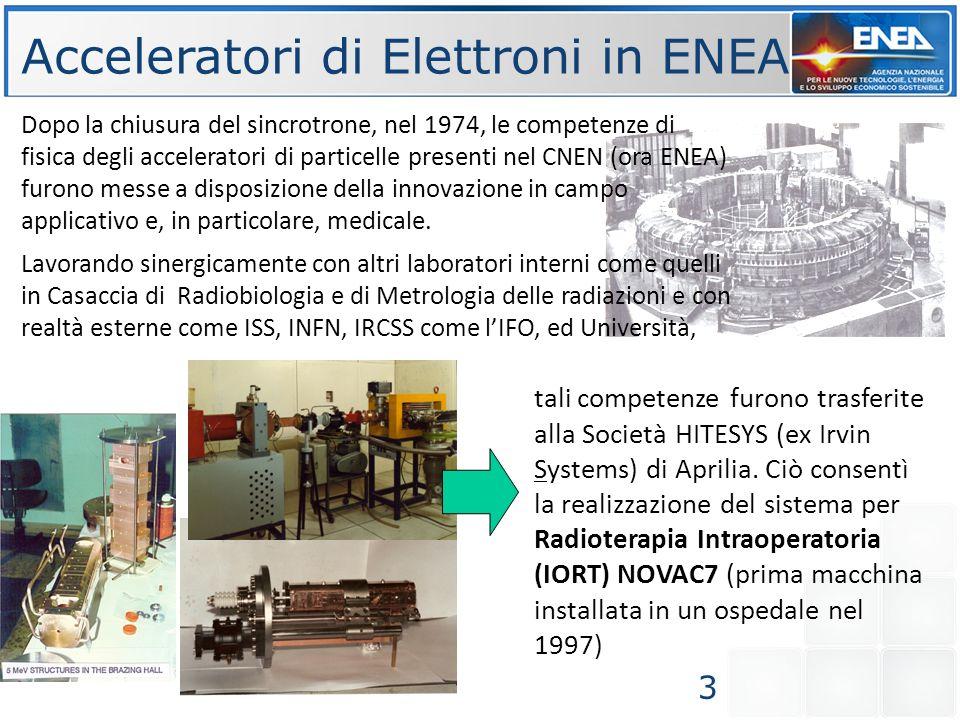 Acceleratori di Elettroni in ENEA