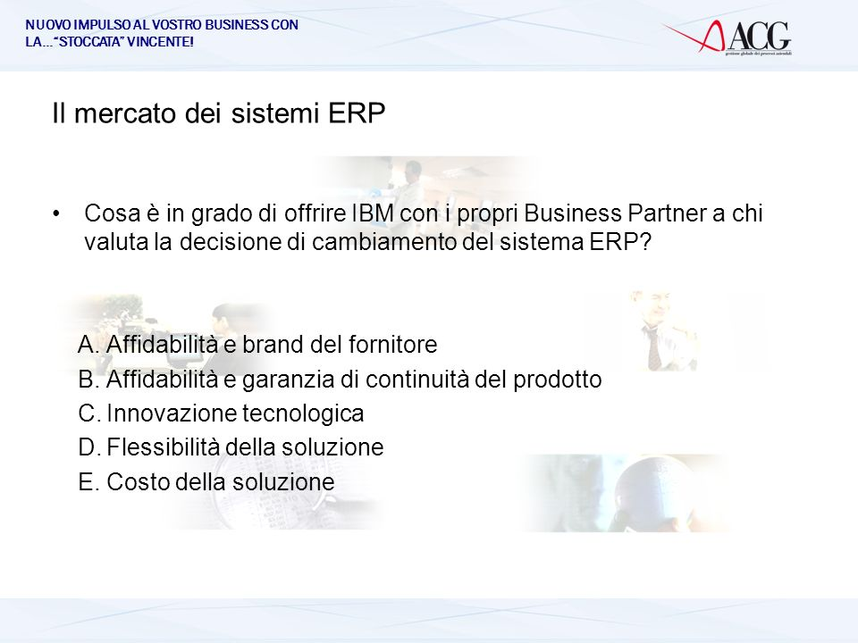 Il mercato dei sistemi ERP