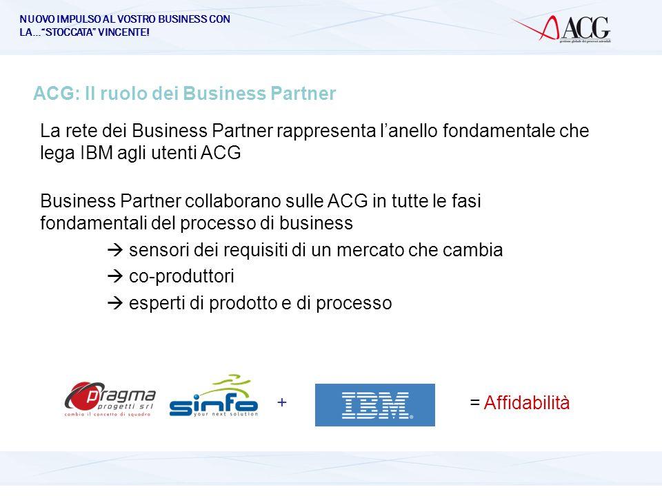 ACG: Il ruolo dei Business Partner