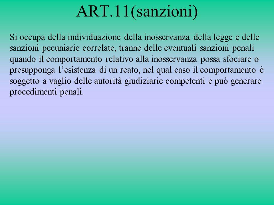 ART.11(sanzioni)