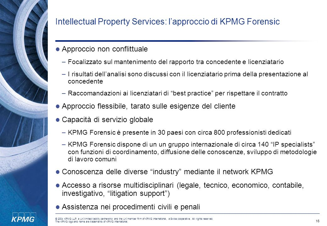 Intellectual Property Services: l'approccio di KPMG Forensic