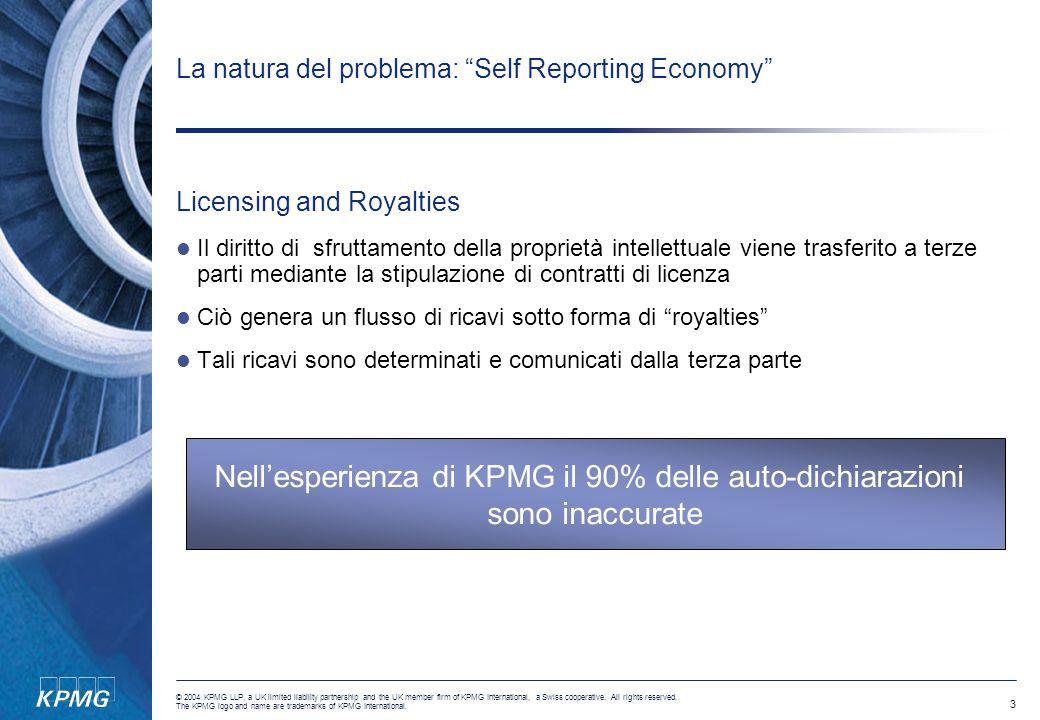 La natura del problema: Self Reporting Economy