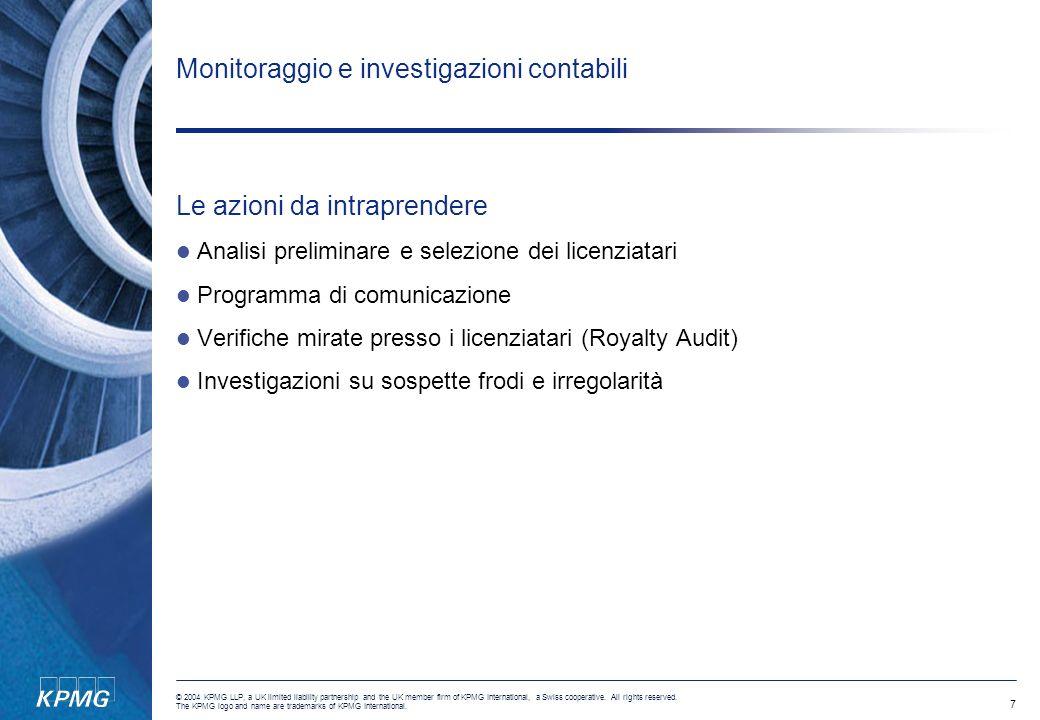 Monitoraggio e investigazioni contabili