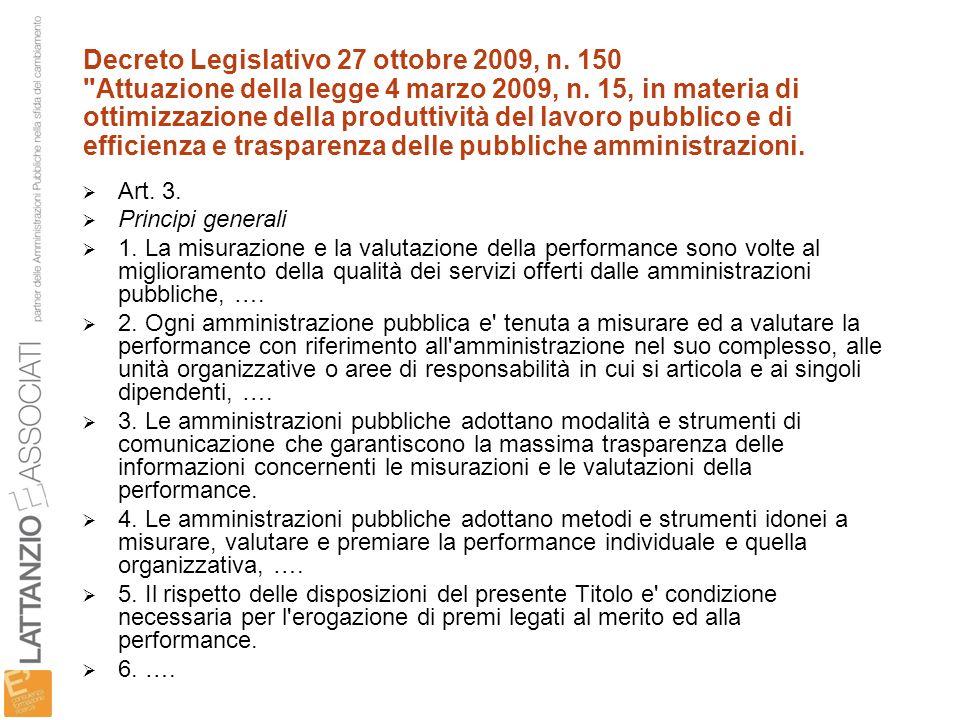 Decreto Legislativo 27 ottobre 2009, n