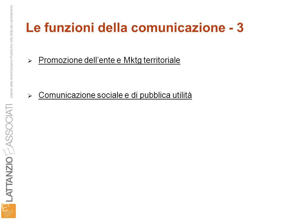 Le funzioni della comunicazione - 3