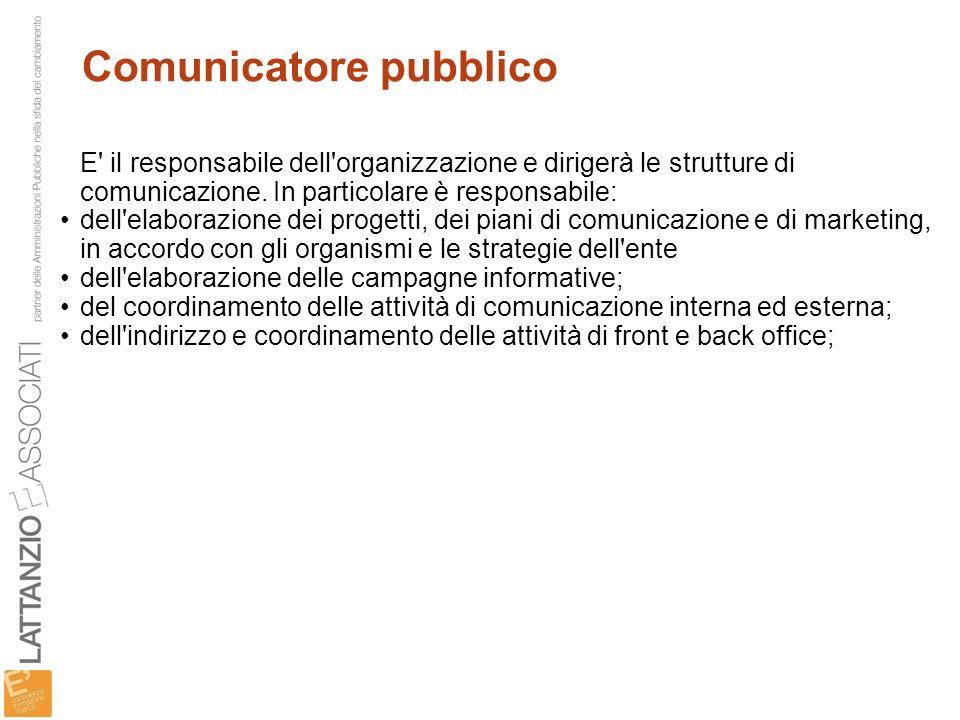 Comunicatore pubblico