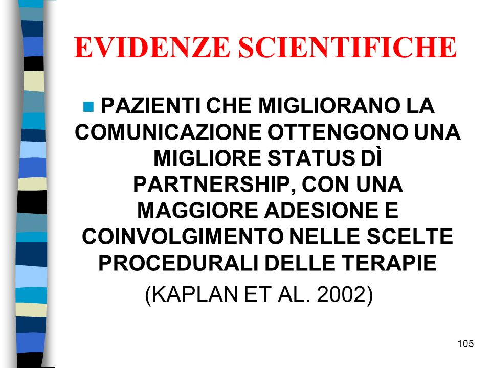 EVIDENZE SCIENTIFICHE