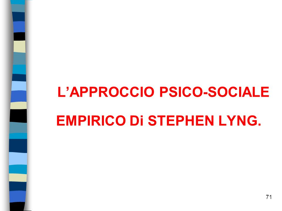 EMPIRICO Di STEPHEN LYNG.