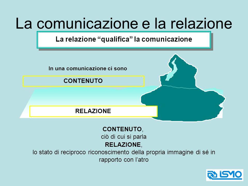 La comunicazione e la relazione