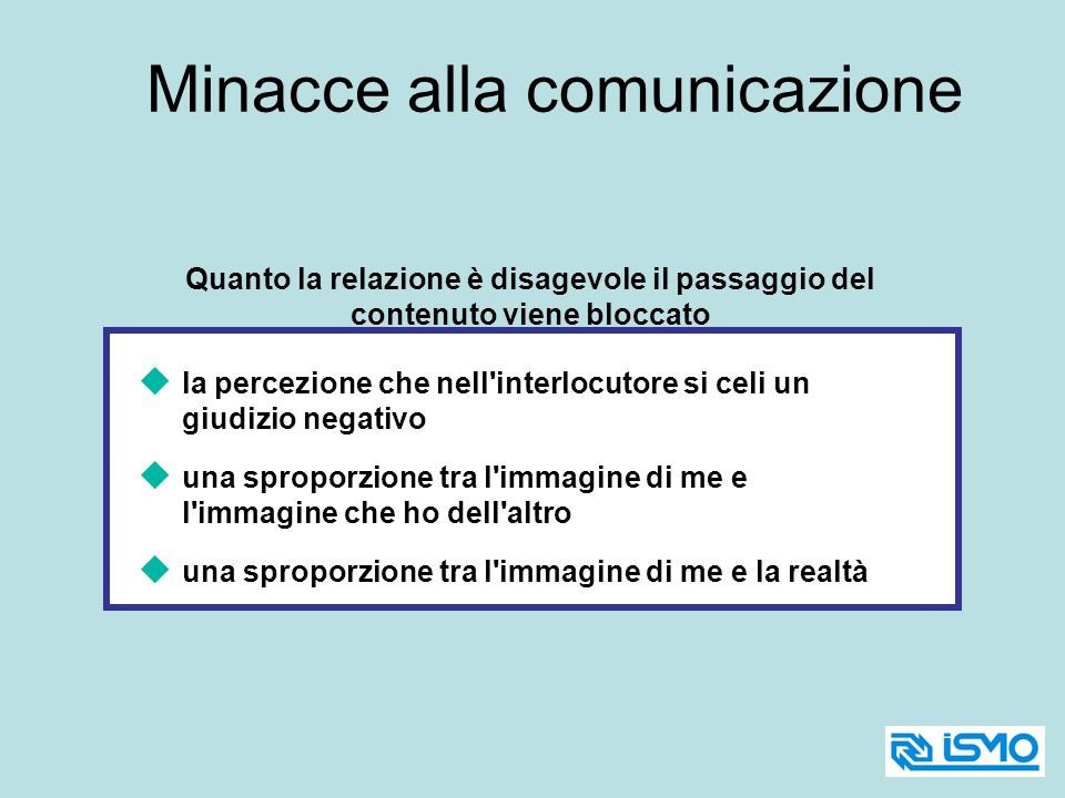 Minacce alla comunicazione