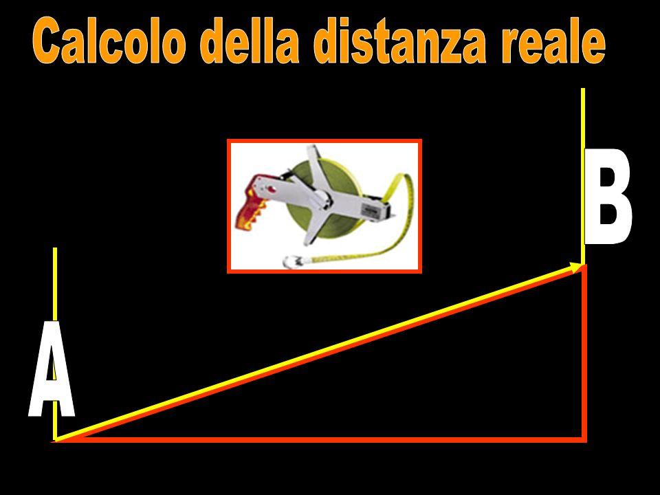 Calcolo della distanza reale