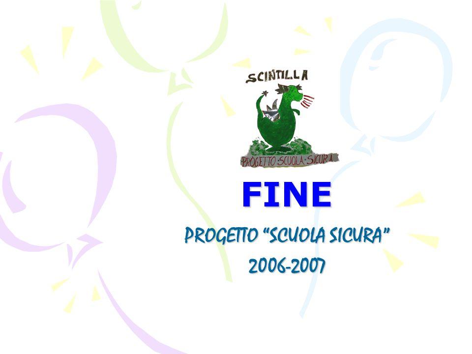 PROGETTO SCUOLA SICURA 2006-2007
