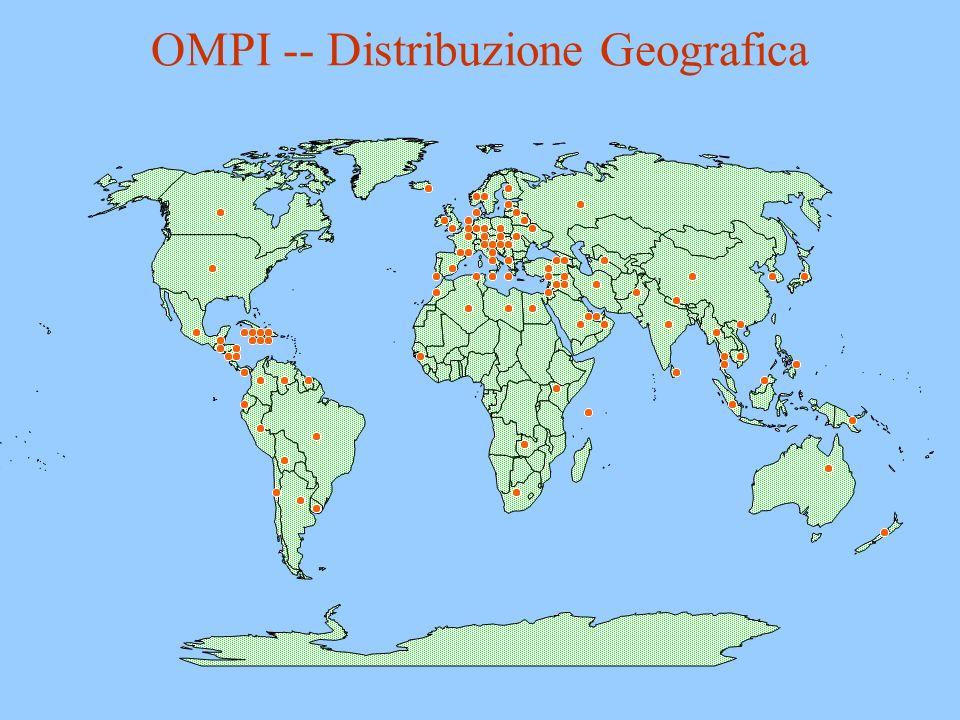 OMPI -- Distribuzione Geografica