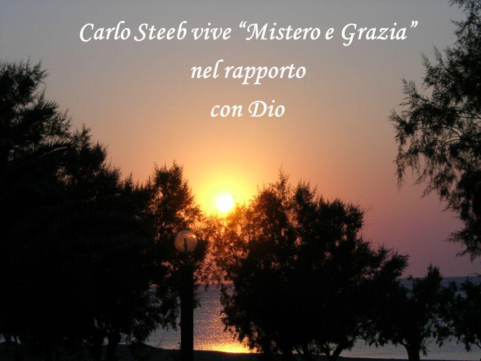 Carlo Steeb vive Mistero e Grazia