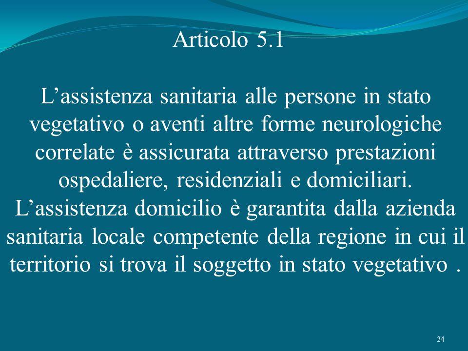 Articolo 5.1