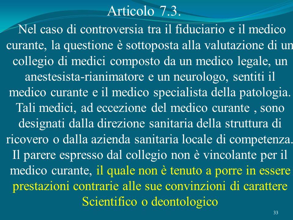 Articolo 7.3.