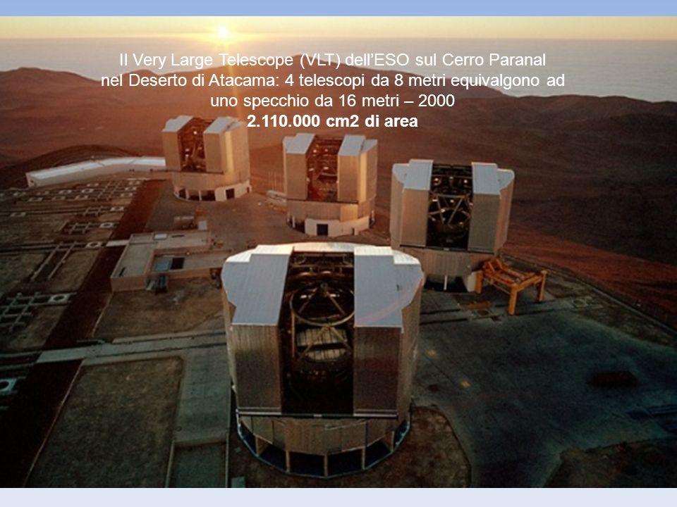 Il Very Large Telescope (VLT) dell'ESO sul Cerro Paranal