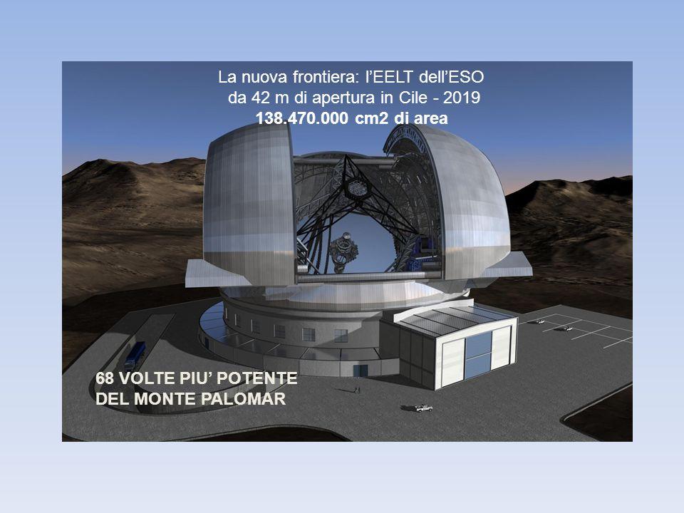 La nuova frontiera: l'EELT dell'ESO da 42 m di apertura in Cile - 2019