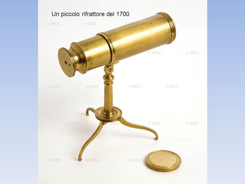 Un piccolo rifrattore del 1700