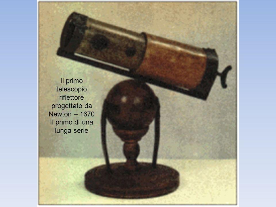 Il primo telescopio riflettore progettato da Newton – 1670