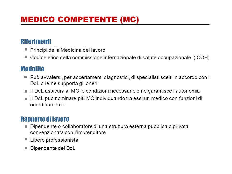 MEDICO COMPETENTE (MC)