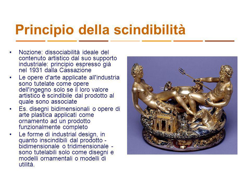 Principio della scindibilità