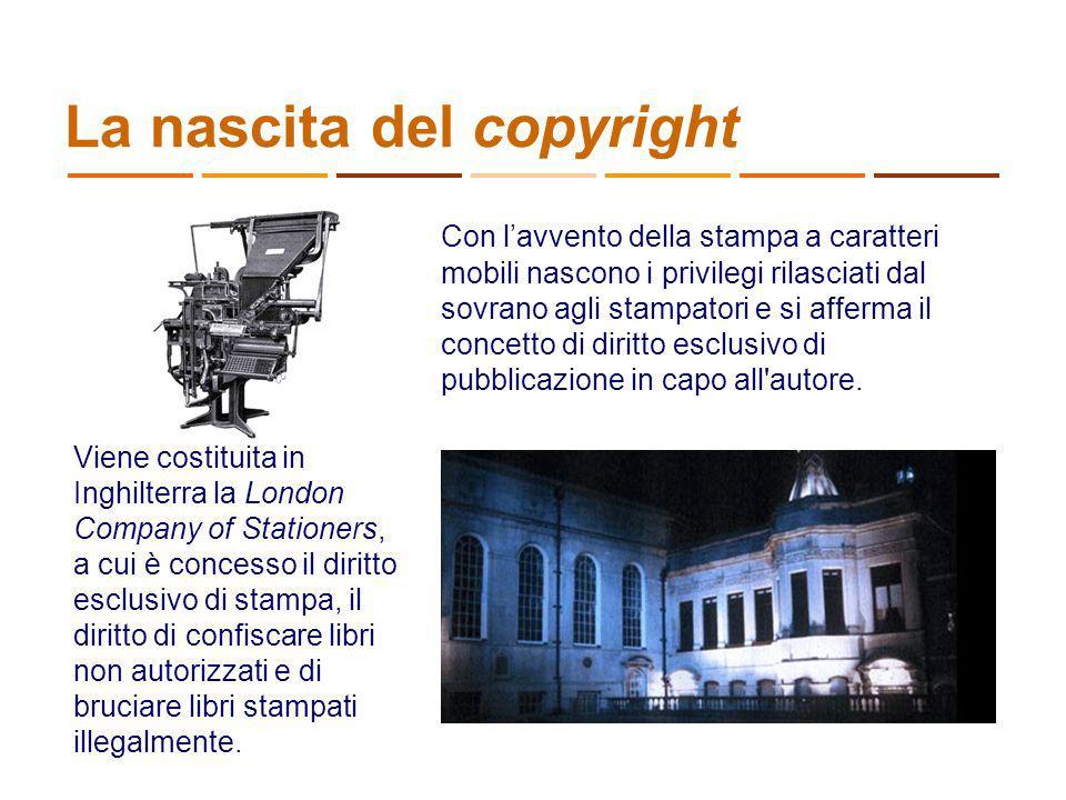 La nascita del copyright