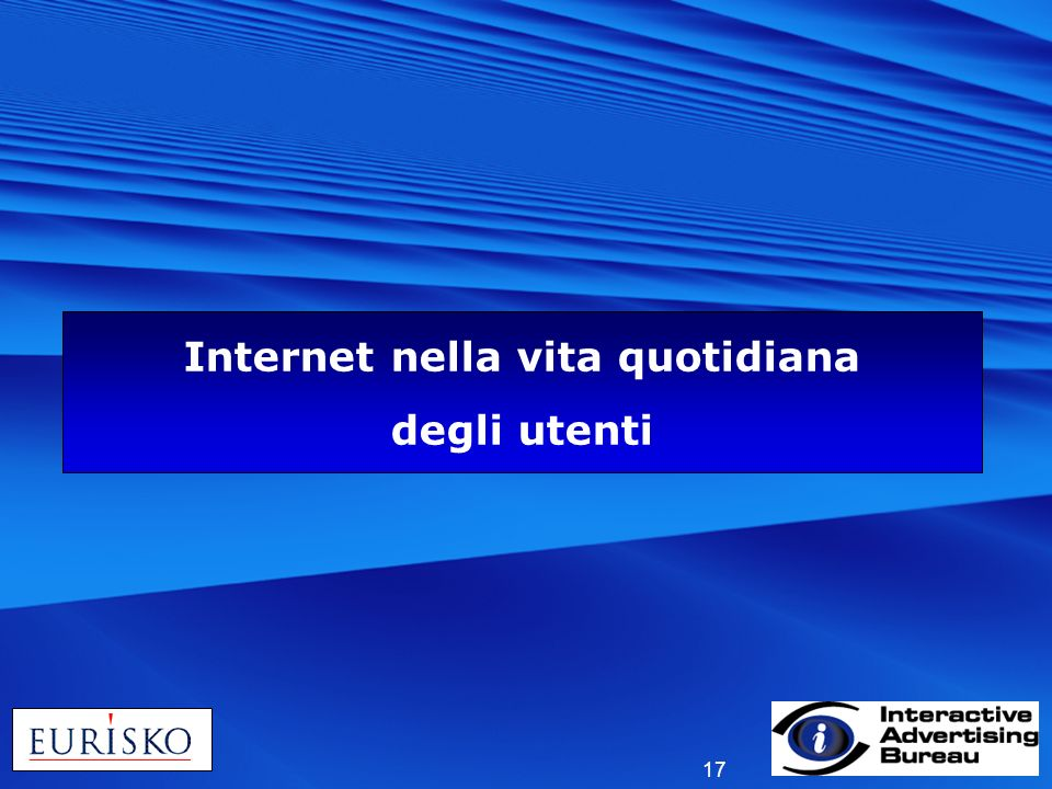Internet nella vita quotidiana