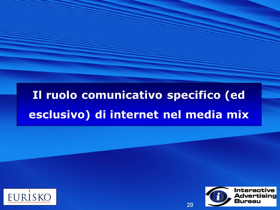 Il ruolo comunicativo specifico (ed