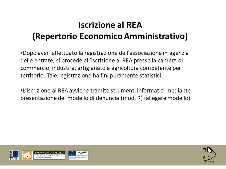 (Repertorio Economico Amministrativo)