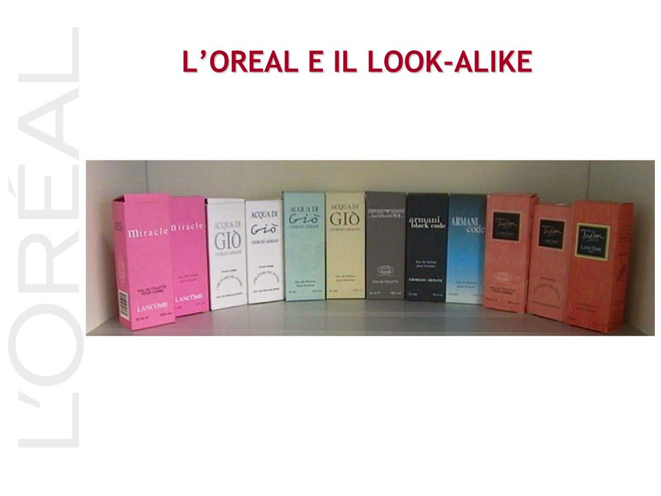 L'OREAL E IL LOOK-ALIKE